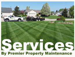 Landscaping Central Michigan Services by Premier Property Maintenance